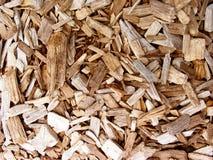 Déchets de bois Photo libre de droits