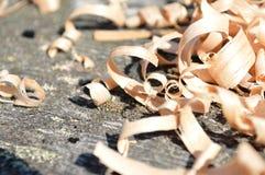 Déchets de bois Image libre de droits
