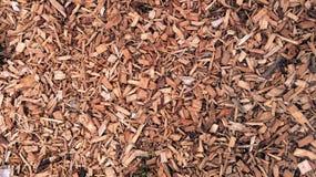 Déchets de bois d'écorce Images libres de droits