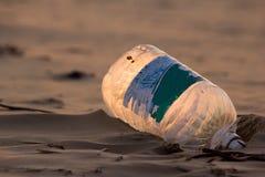 Déchets de plastique Images libres de droits