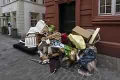 Déchets en vrac Heidelberg Rttemberg de ¼ de Baden-WÃ, G Photo stock