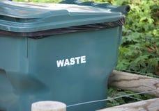 Déchets, déchets, ordures et déchets Recepticle photo libre de droits