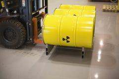 Déchets radioactifs Image libre de droits