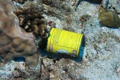 Déchets sous-marins Images libres de droits