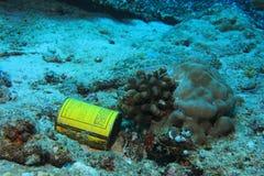 Déchets sous-marins Photo stock