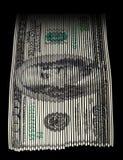 Déchiquetage de l'argent Photographie stock libre de droits