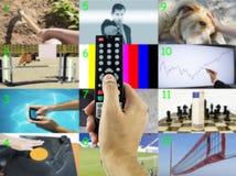 Décidez un canal photo libre de droits