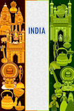 décimo quinto August Independence del fondo tricolor de la India Fotos de archivo