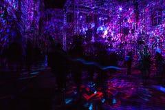 """décimosexto centro comercial 2018 Festival del †de Zagreb, Croacia """"de la luz en Zagreb imagenes de archivo"""