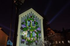 """décimosexto centro comercial 2018 Festival del †de Zagreb, Croacia """"de la luz en Zagreb foto de archivo libre de regalías"""