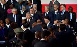 décimosexto cumbre de Francophonie en Antananarivo fotografía de archivo
