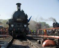 décimosexto Desfile 2009 de la locomotora de vapor - loco 423 041 Fotografía de archivo libre de regalías