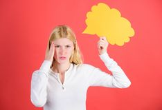 Décision et solution Résolvez le problème Ce qui est sur son esprit Prenez la décision Laissent entendre et font référence le con photos stock