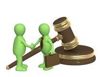 Décision réussie d'un problème permissible Image libre de droits