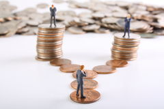 Décisions économiques Image stock
