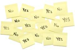Décisions, décisions Image stock