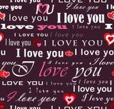 Déclaration de l'amour Image libre de droits