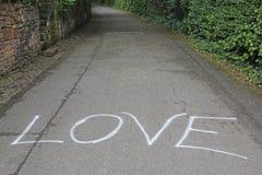Déclaration de l'amour Photos stock