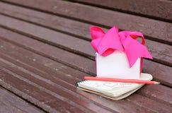 Déclaration de l'amour attendant la datation d'amour Image stock