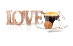 Déclaration de l'amour pour la Saint-Valentin Photo libre de droits