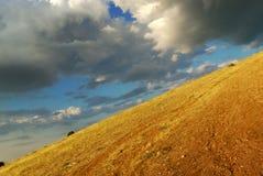 Déclivité de montagne Images libres de droits