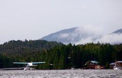 Décollage d'avion de mer photo libre de droits