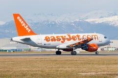 Décollage d'avions d'Easyjet Images stock