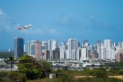 Décollage de Tam Airliner image libre de droits