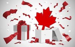 Décollement de jour du Canada Photo libre de droits