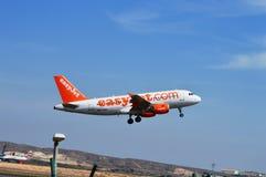 Décollez d'Alicante Photographie stock libre de droits