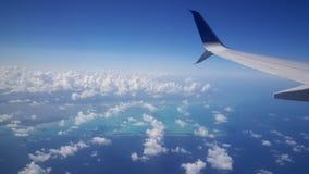 Décollez de l'aéroport de Cancun Image libre de droits