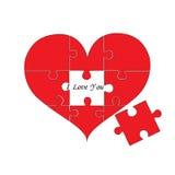 Déconcertez Heart images stock