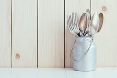 Décor à la maison de cuisine Image libre de droits