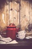 Décor à la maison rustique Photos libres de droits