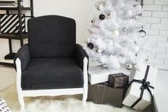 Décor élégant moderne de Noël photo stock