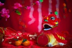 Décor chinois de festival de nouvelle année Images libres de droits