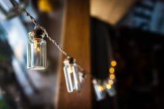 Décor classique de lampes d'ampoule Photos libres de droits