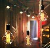 Décor d'éclairage Image libre de droits