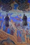 Décor d'église, choses pour des cérémonies religieuses photo libre de droits