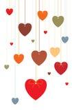 Décor d'amour Photos stock