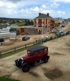 Décor de film dans la voiture de sable de style ancien de Stanley Tasmania Australia photographie stock libre de droits