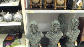 Décor de Halloween au magasin banque de vidéos