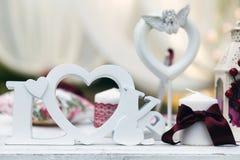 Décor de mariage Image stock
