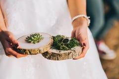 Décor de mariage Photographie stock