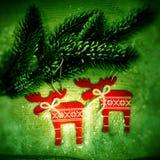 Décor de Noël Photos stock