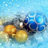Décor de Noël Image libre de droits