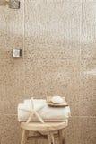 Décor de salle de bains Photographie stock libre de droits