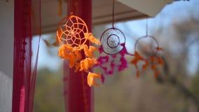 Décor floral traditionnel de mariage indien banque de vidéos