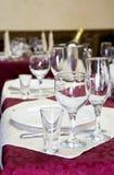 Décor in het restaurant royalty-vrije stock foto's