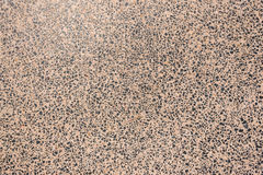 Décor poli concret de pierre de granit Photo libre de droits